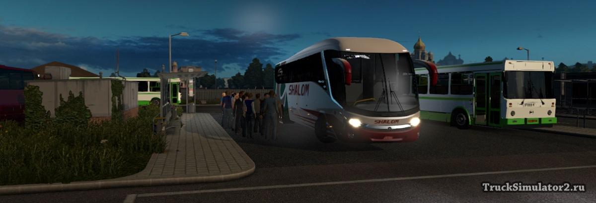 Пассажирский мод для Euro Truck Simulator 2 1 11 - 1 35