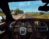 Audi RS4 - интерьер салона