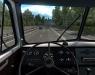 МАЗ-504 - интерьер