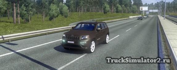 Jeep Grand Cheeroke SRT8 для Euro Truck Simulator 2