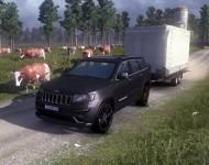 Jeep Grand Cherokee SRT8 для игры Euro Truck Simulator 2