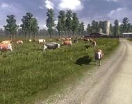 Русская карта - локация ферма