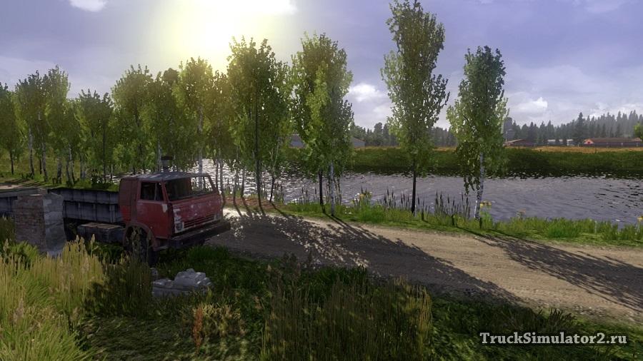 скачать мод на русские карты для euro truck simulator 2 gold