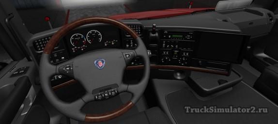 Scania T - интерьер