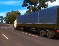 КамАЗ-54115 из дальнобойщиков с прицепом