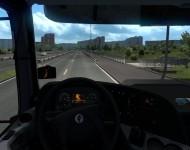 КамАЗ-5490 - интерьер