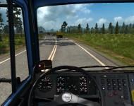 МАЗ-6422 - интерьер