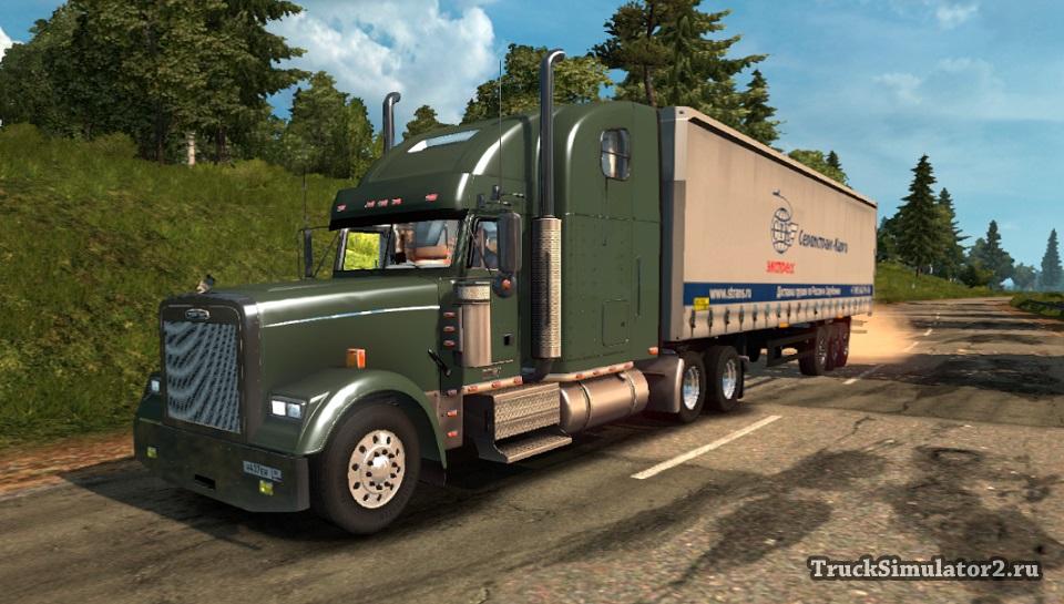FREIGHTLINER CLASSIC 120 для Euro Truck Simulator 2 - Скриншот 3