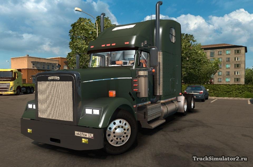 FREIGHTLINER CLASSIC 120 для Euro Truck Simulator 2 - Скриншот 2