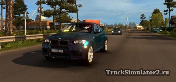 BMW X6 для ETS2