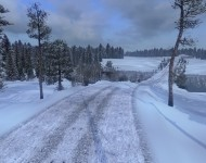 Морозная зима 6.2 для ETS2 1.26