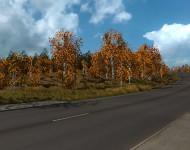 Осенний мод для ETS2 1.20