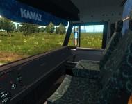 КамАЗ-54115 - салон