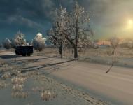 Зимний мод для ETS2
