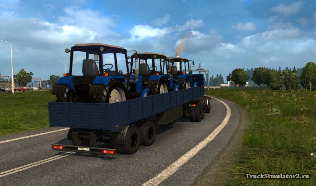 Скачать Мод Внедорожные Прицепы Для Euro Truck Simulator 2 - фото 5