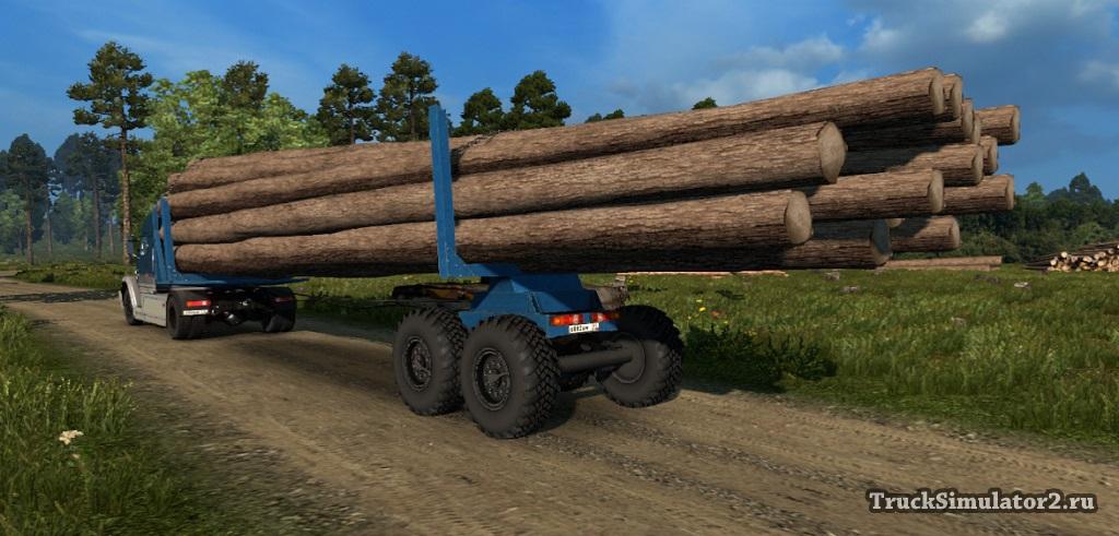 Скачать Мод Внедорожные Прицепы Для Euro Truck Simulator 2 - фото 3