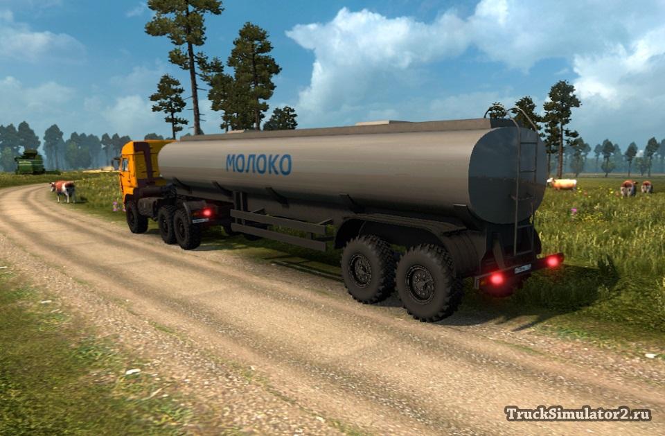Скачать Мод Внедорожные Прицепы Для Euro Truck Simulator 2 - фото 7