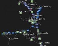 Карта Республики Казахстан 0.8