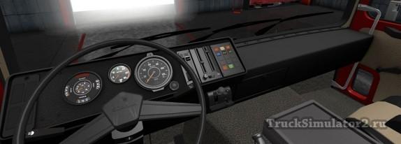Scania 1 Series - приборная панель