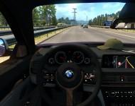 BMW X6 M - интерьер салона