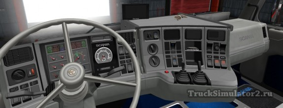 Scania 143M - интерьер Old School