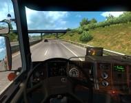 Scania 143M - интерьер салона