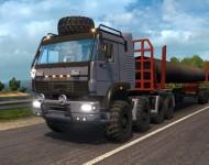 КамАЗ-6450 8x8 для ETS2