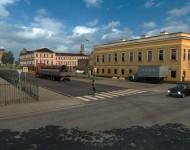 Русская карта 1.6.3 для ETS2 1.25