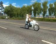 Мотоциклисты в трафик