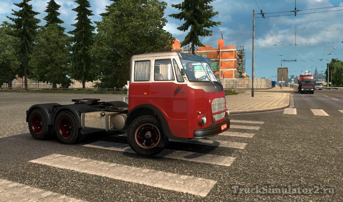 FIAT FNM 210 для Euro Truck Simulator 2 - Скриншот 1