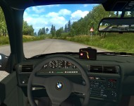 BMW E30 - интерьер салона
