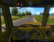КрАЗ-255 - интерьер