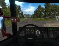Scania 4 Series - интерьер