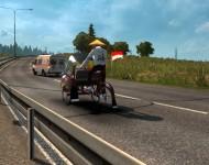 Рикша в трафик