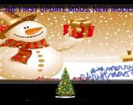 Новогодний экран загрузки