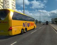 Пак автобусов в траффик 1.8.1