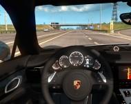 Porsche Panamera Turbo - интерьере салона