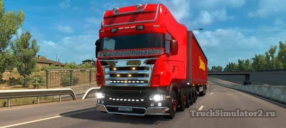 Scania R Streamline - тюнинг