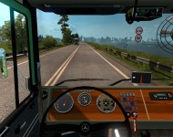 Mercedes-Benz LPS 1632 - приборная панель