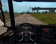 Scania S730 - интерьер