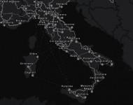 карта Италии в ETS2