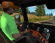 водитель ковбой в ETS2