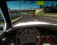 Mercedes-Benz 190E - интерьер салона