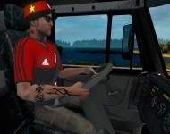 новый водитель грузовика