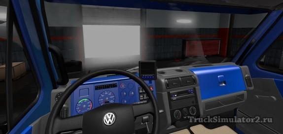 VW Titan 18.310 - интерьер салона