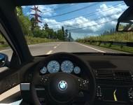 BMW 5-Series E39 - интерьер салона