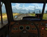 Freightliner FLD - интерьер салона