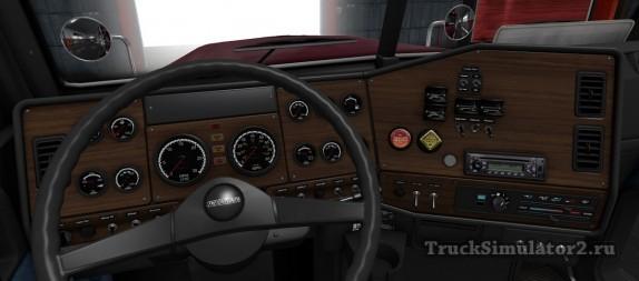 Freightliner FLD - приборная панель