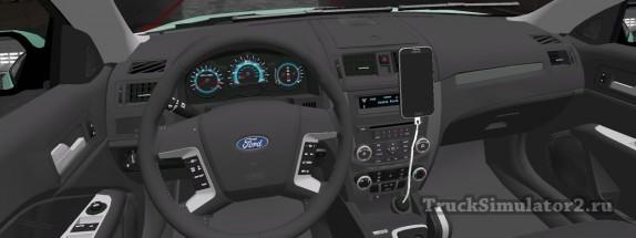 Ford Fusion 2010 - панель приборов