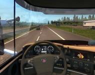 Scania STAX - интерьер
